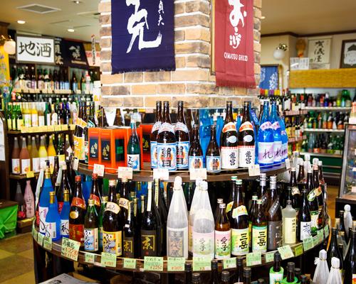 地酒・焼酎・日本酒・リキュール 他にはない品揃え