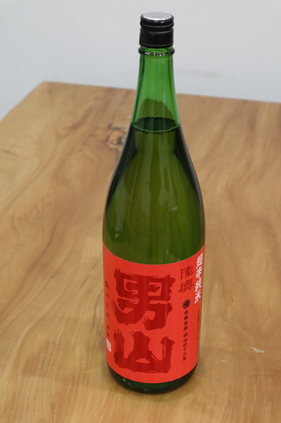 陸奥男山 純米 超辛口